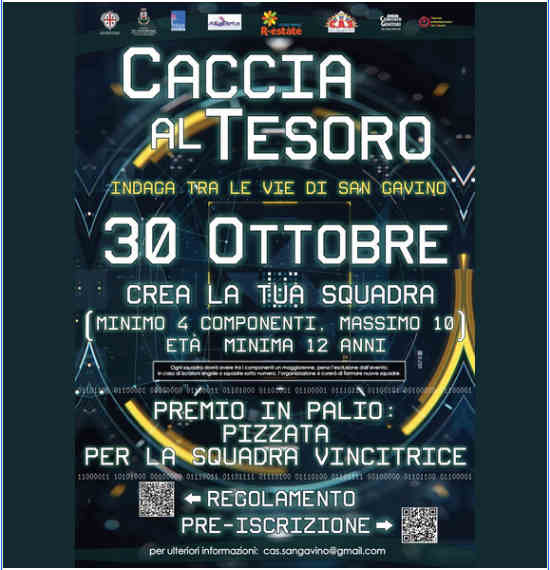 La Dolce Vita - San Gavino - 20 ottobre 2021 - Caccia al tesoro
