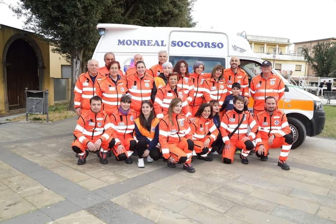 I volontari di Monreal soccorso